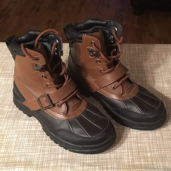 Kids Colbey Ralph Lauren Polo Boot Size